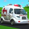Cartoon Ambulanza Van