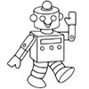 Robot Coloring