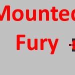 Mounted Fury